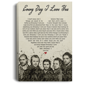Boyzone Everyday I Love You Lyrics Canvas Poster Music Poster VA06-Bounce Tee