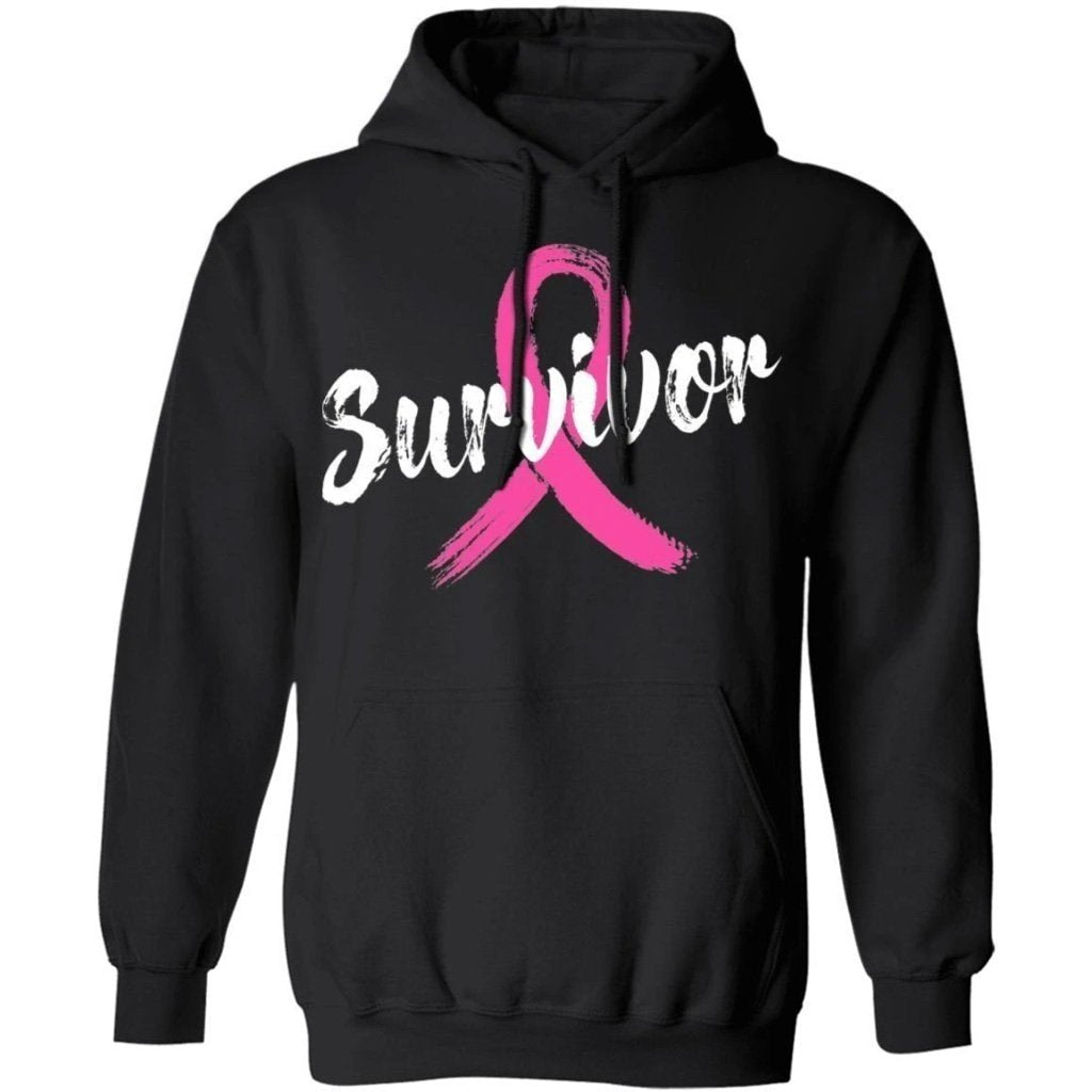 Breast Cancer Survivor Cancer Awareness Hoodie Meaningful Gift VA09-Bounce Tee