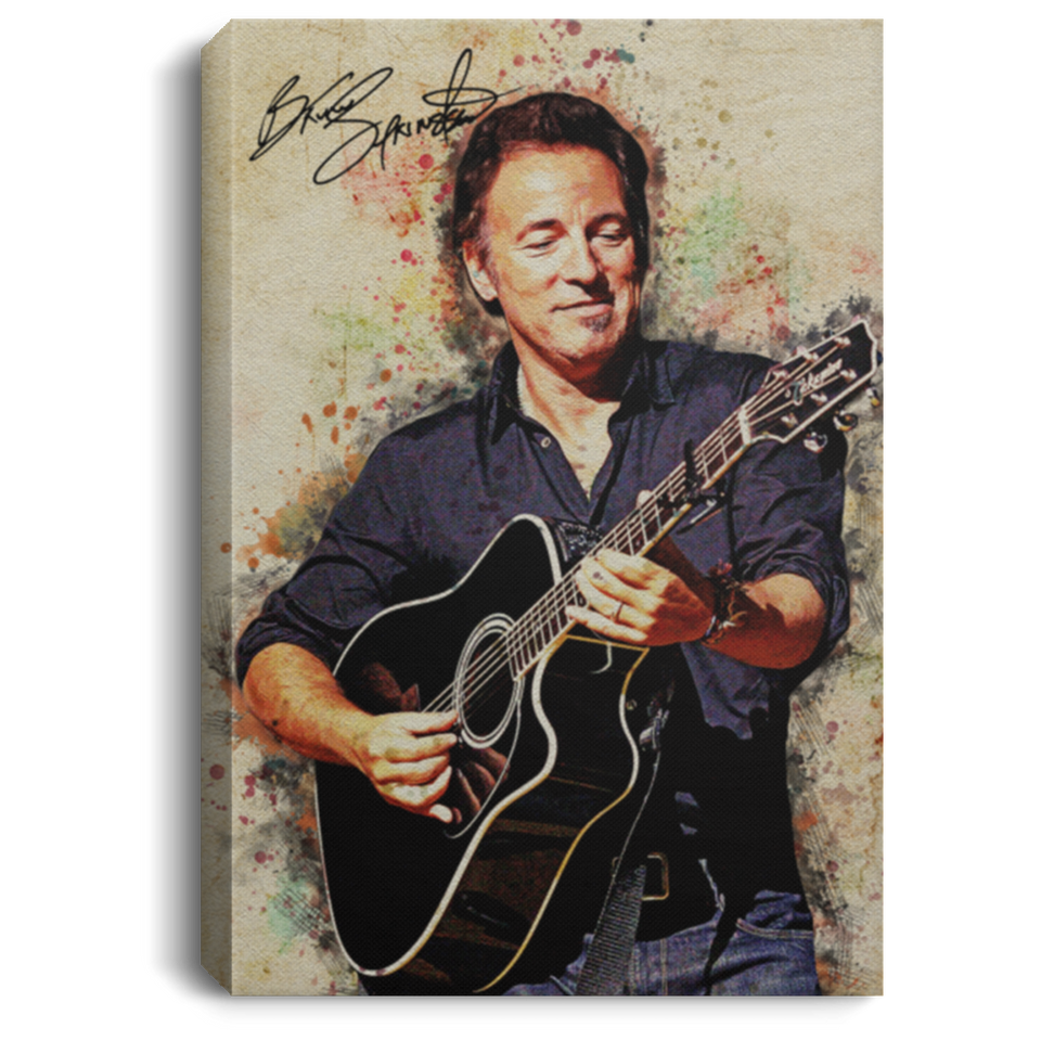 Bruce Springsteen Canvas Poster Music Poster For Fans VA04-Bounce Tee