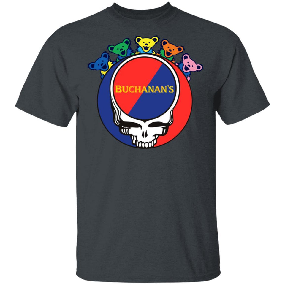 Buchanan's In Grateful Dead Head T-shirt Whisky Tee PT03-Bounce Tee