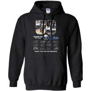 Buffalo Sabres 50th Hockey Anniversary Hoodie Fan Gift Idea PT06-Bounce Tee