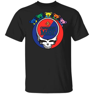 Canadian Mist In Grateful Dead Head T-shirt Whisky Tee PT03-Bounce Tee