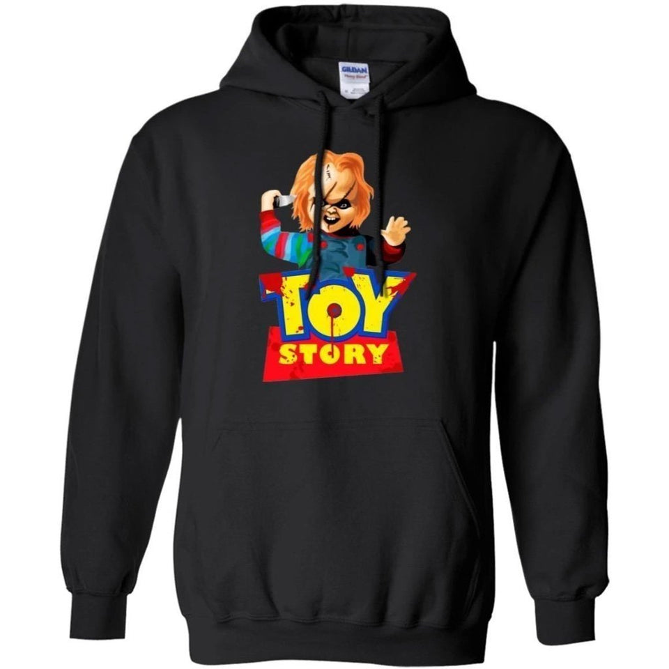 Chucky Horror Toy Story Hoodie Halloween Costume MN08-Bounce Tee
