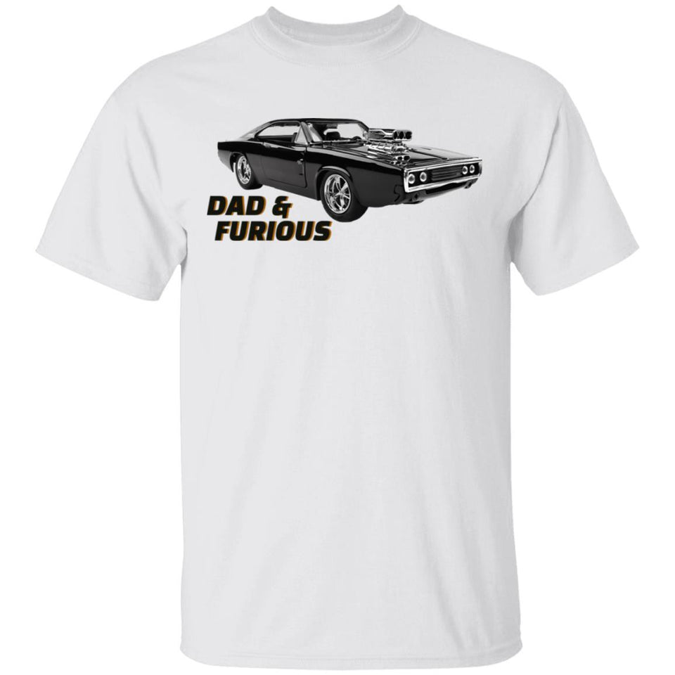 Dad And Furious Fast And Furious Dad T-shirt MT05-Bounce Tee