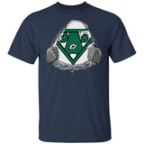 Dad Super Fan Dallas Stars Hockey T-Shirt Gift For Dad-Bounce Tee