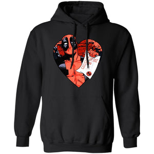 Deadpool Hoodie Deadpool Valentine's Day To Do List Hoodie Funny Gift MT12-Bounce Tee