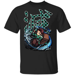 Demon Slayer Kisatsutai Tanjiro Shirt Kimetsu No Yaiba Tee-Bounce Tee