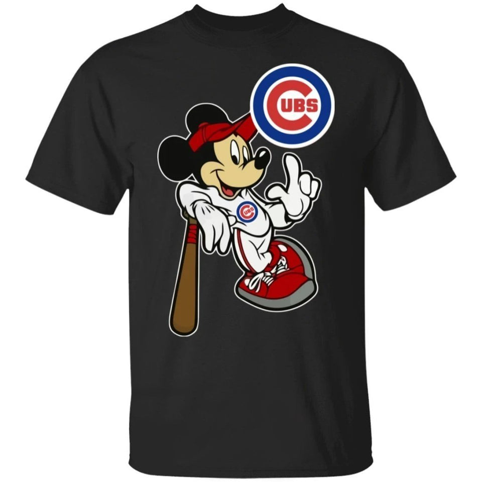 Disney Mickey Mouse and Cubs Team Shirt HA02-Bounce Tee