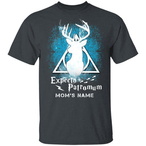 Expecto PatroMum Harry Potter Mom Personalized T-shirt Mother's Day Tee VA06-Bounce Tee