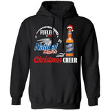 Fueled By Natural Light Beer And Christmas Cheer Hoodie Funny Gift VA10-Bounce Tee