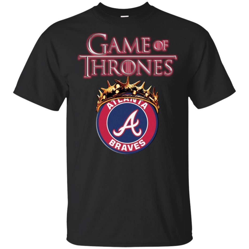 Game Of Thrones Atlanta Braves T-shirt Men Women Fan-Thebouncetee.com