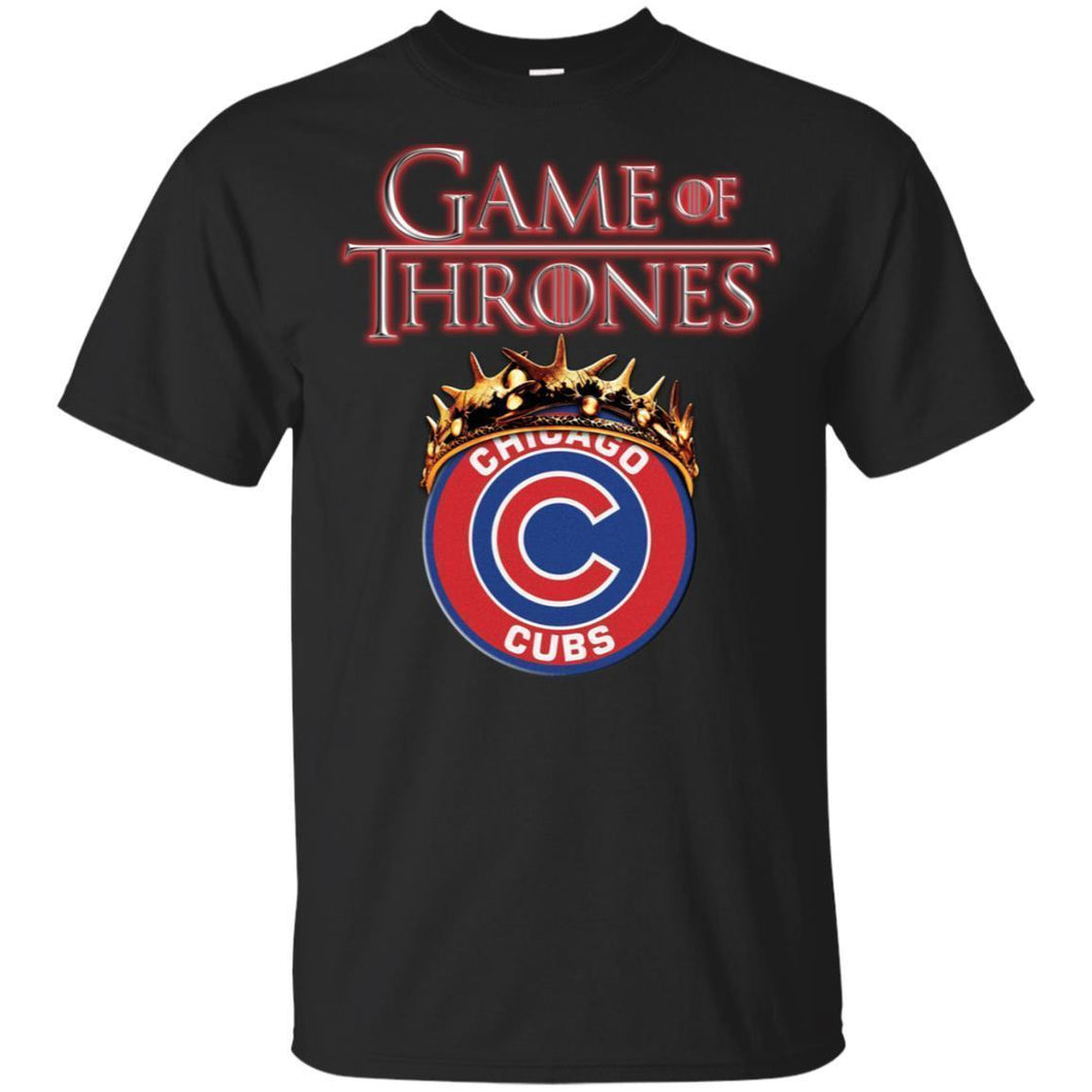 Game Of Thrones Chicago Cubs T-shirt Men Women Fan-Thebouncetee.com