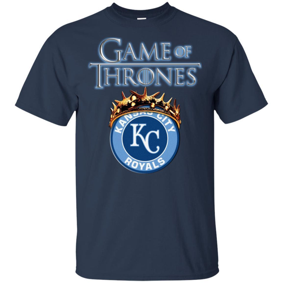 Game Of Thrones Kansas Royals T-shirt Men Women Fan-Thebouncetee.com
