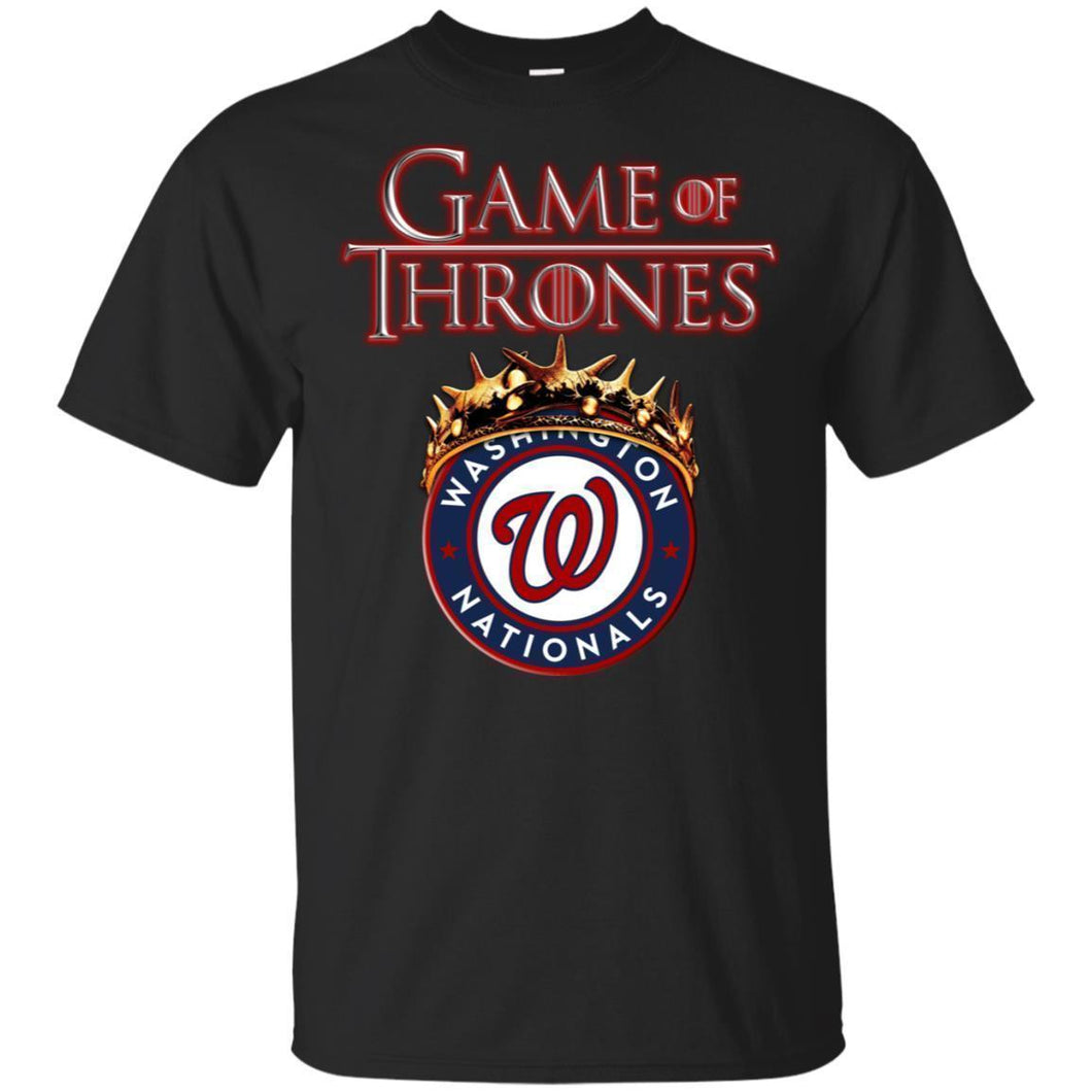 Game Of Thrones Washington Nationals T-shirt Men Women Fan-Thebouncetee.com