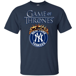 Game Of Thrones NY Yankees T-shirt Men Women Fan-Thebouncetee.com