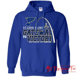 Gate Way To Victory St. Louis Blues 2019 Stanley Cup Champions Hoodie VA06-Thebouncetee.com