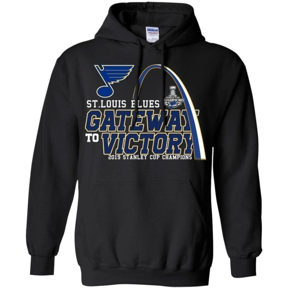 Gate Way To Victory St. Louis Blues Hoodie Stanley Cup Champs VA06-Bounce Tee