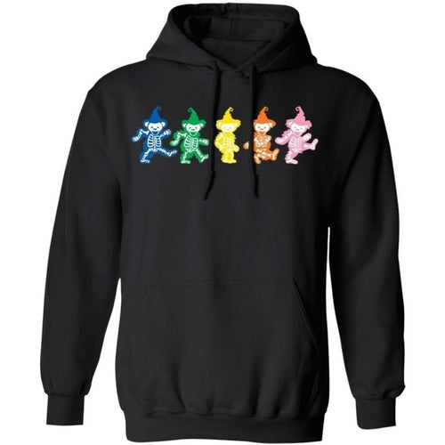 Grateful Dead Bears Dancing In Halloween Costume Hoodie Funny Gift VA10-Bounce Tee
