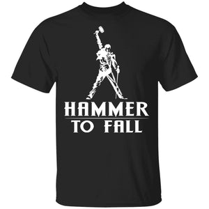Hammer To Fall Freddie Mercury T-shirt VA03-Bounce Tee