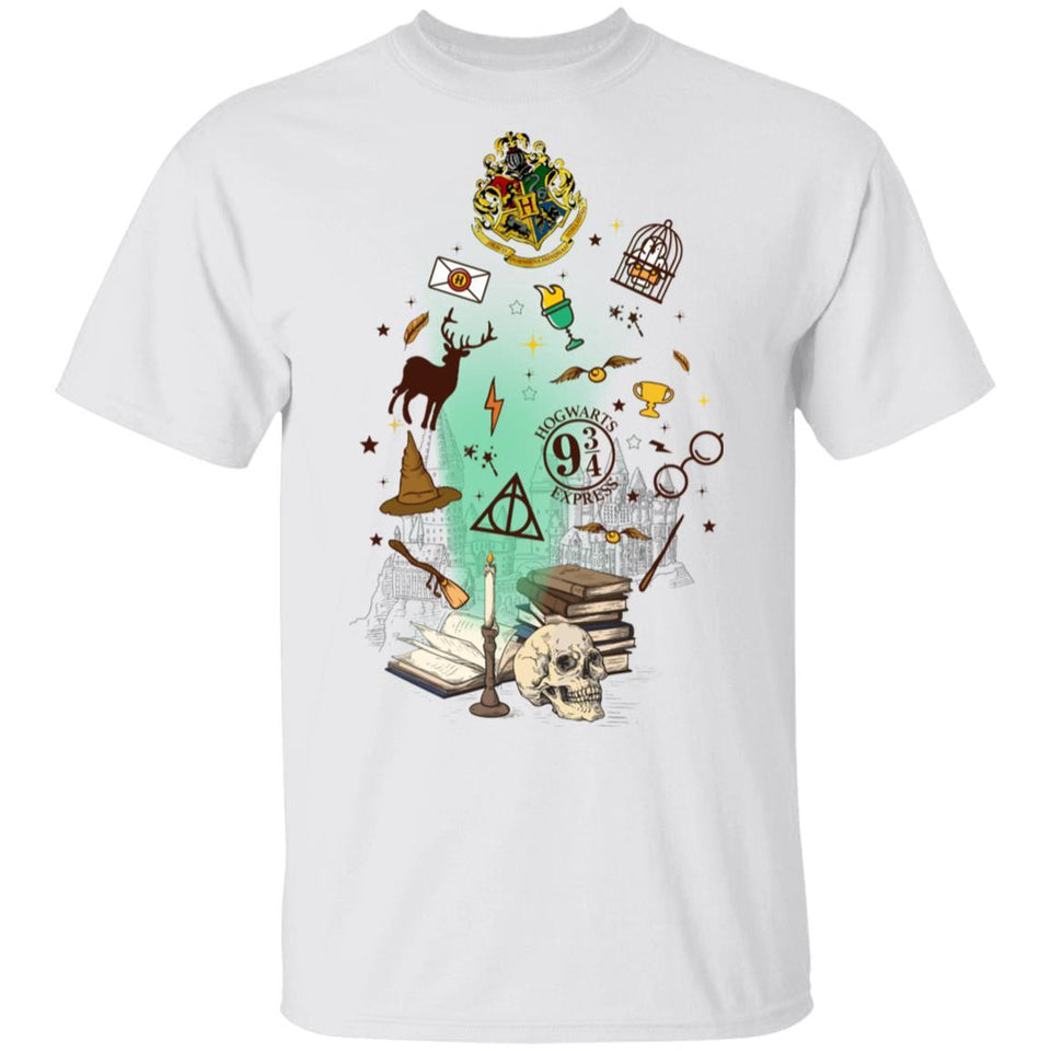 Harry Potter Things From The Book T-shirt MT04-Bounce Tee