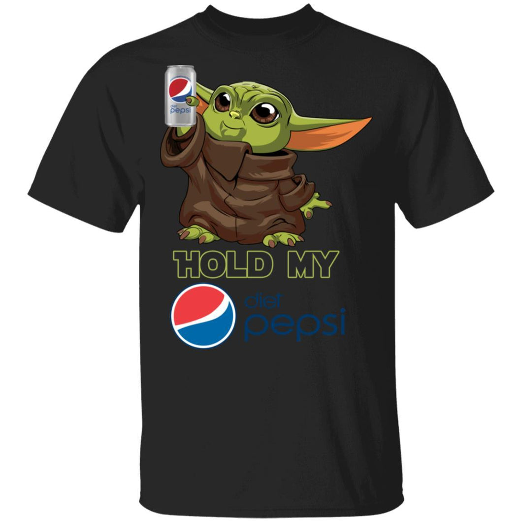 Hold My Diet Pepsi T-shirt Funny Baby Yoda Tee MT03-Bounce Tee