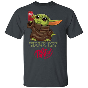 Hold My Dr Pepper T-shirt Funny Baby Yoda Tee MT03-Bounce Tee
