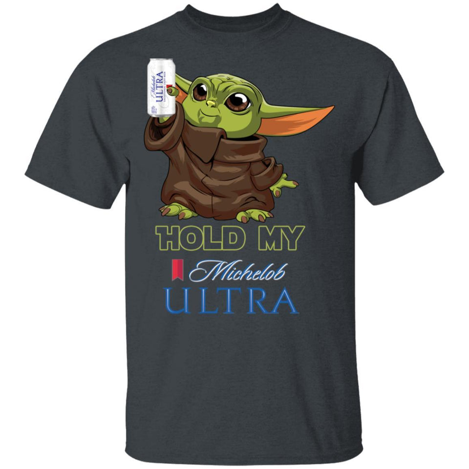 Hold My Michelob Ultra T-shirt Baby Yoda Holding Beer Tee MT03-Bounce Tee