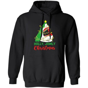 Holy Jawly Christmas Shark Hoodie Xmas Gift MT11-Bounce Tee