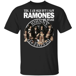 I Am Old But I Saw The Ramones On Stage T-shirt Rock Tee VA12-Bounce Tee