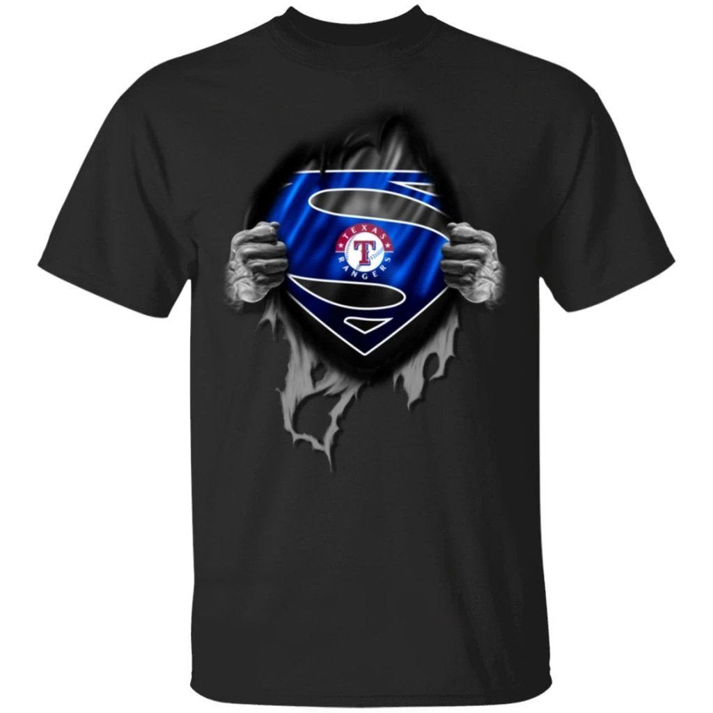 I Am Super Fan Of Texas Rangers Team Shirt KA03-Bounce Tee