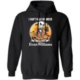 I Can't Walk On Water I Can Stagger On Evan Williams Whisky Jack Skellington Shirt VA09-Bounce Tee