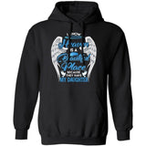 I Know Heaven Is A Beautiful Place They Have My Daughter Angel Wings Hoodie VA10-Bounce Tee