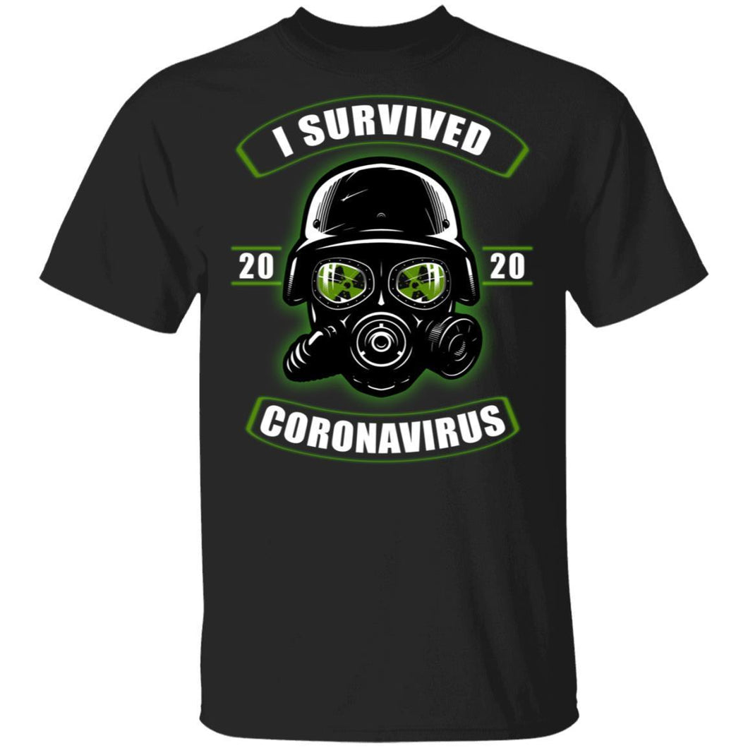 I Survived Coronavirus 2020 T-shirt Anti Toxic Mask Tee VA03-Bounce Tee