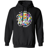 In A World Where You Can Be Anything Be Kind Autism Hoodie Meaningful Gift VA09-Bounce Tee