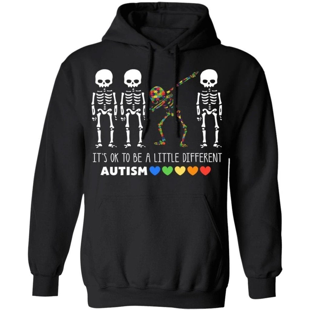 It's Ok To Be A Little Different Autism Awareness Hoodie Meaningful Gift PT09-Bounce Tee