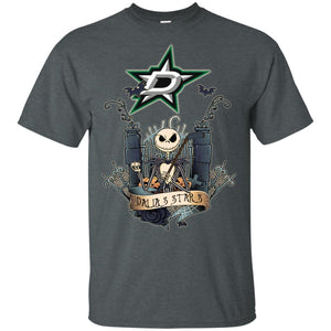 Jack Skellington Dallas Stars Hockey T-shirt Men Women Fan HA05-Thebouncetee.com