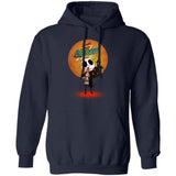 Jack Skellington Holding Natural Ice Beer Hoodie Funny Gift HA08-Bounce Tee