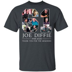 Joe Diffie T-shirt 61 Years Memorial Tee VA03-Bounce Tee