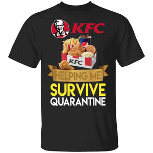 KFC Helping Me Survive Quarantine T-shirt HA05-Bounce Tee