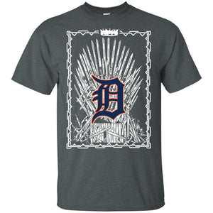 King Tigers Of Thrones T-shirt Funny Men Women Fan-Thebouncetee.com