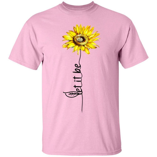 Let it be Flower T-shirt-Bounce Tee