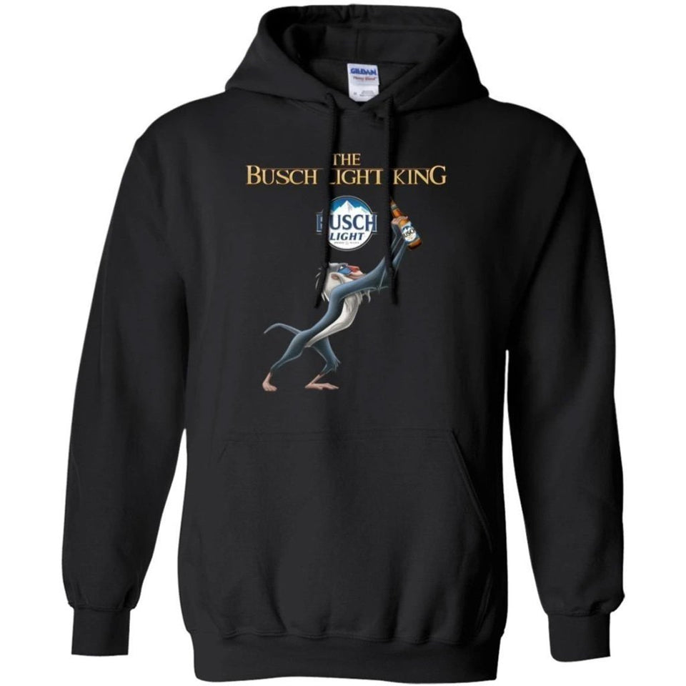 Lion King The Busch Light Beer King Hoodie Funny Gift HA08-Bounce Tee