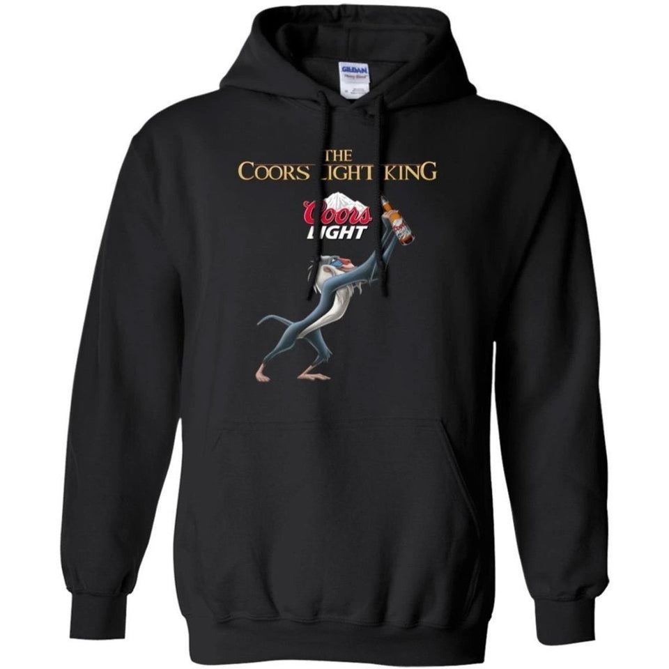 Lion King The Coors Light Beer King Hoodie Funny Gift HA08-Bounce Tee