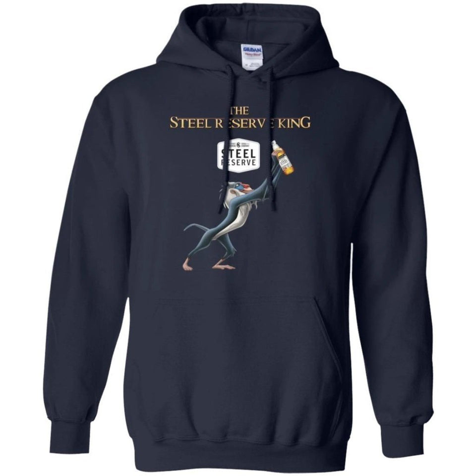 Lion King The Steel Reserve Beer King Hoodie Funny Gift HA08-Bounce Tee