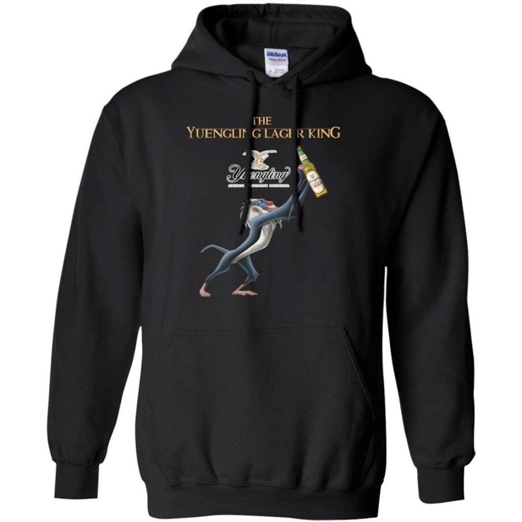 Lion King The Yuengling Lager Beer King Hoodie Funny Gift HA08-Bounce Tee
