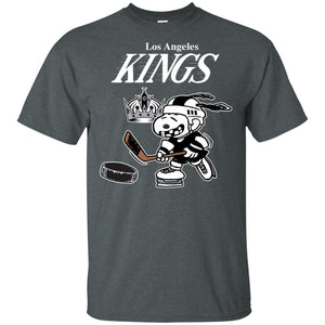 Los Angeles Kings Snoopy Hockey T-shirt Funny Fan Men Women-Thebouncetee.com