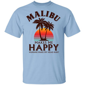 Malibu Makes Me Happy T-shirt Rum Tee VA12-Bounce Tee