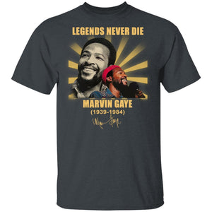 Marvin Gaye T-shirt Legends Never Die Tee MT03-Bounce Tee