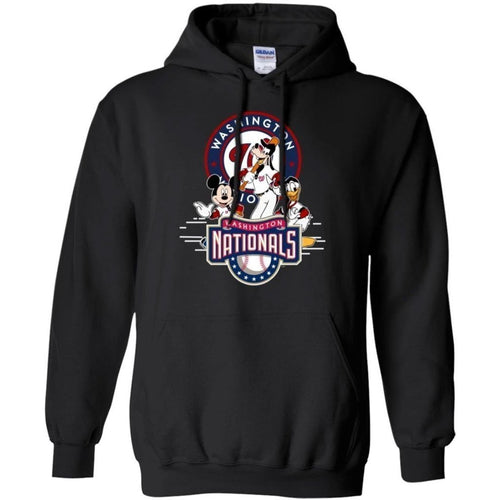 Mickey Goofy And Donald Washington Nationals Team Hoodie Gift HT207-Bounce Tee