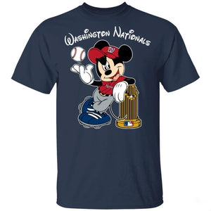 Mickey Nationals 2019 Champions Shirt Fan Gift Idea VA10-Bounce Tee